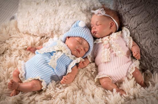 twins bebe reborn gemelos arias